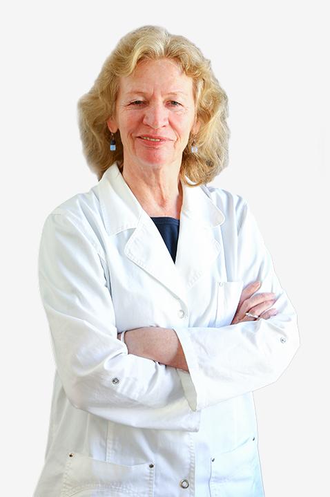 Zahnarzthelferin Monika Bender der Zahnarztpraxis in Heidelberg